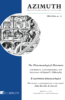 The Phenomenological Movement: Forerunners, Contemporaries, and Successors of Husserl's Philosophy